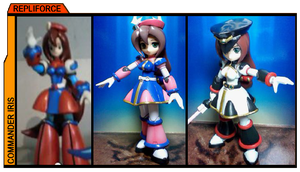 Mega Man Figure Hunt Down (Mega Man X Iris) by AnimeCitizen