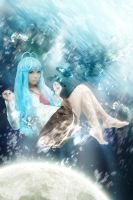 drown to the moon by Godling-Studio