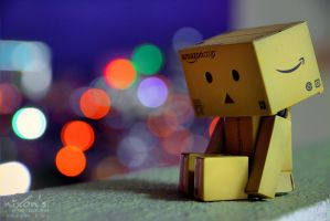 Danbo is sleepy .. by fighteden