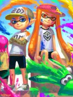 Splatoon! by bellhenge