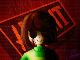 Chara Undertale by JDGaming2001