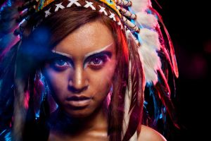 Native American beauty 03 (beauty-fashion) by LastWishes
