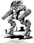 Battletech: Gunsmith mech by Mecha-Zone