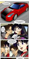Sailor Mars' Sports Car remake by ArthurT2015