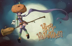 Happy Halloween by StyloideIllustration