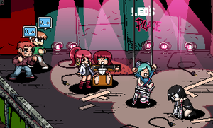 Scott Pilgrim VS The Ticklers by GreenJack21