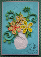 Quilling - Card 132 - Mother's Day by Eti-chan