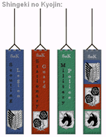 Shingeki no Kyojin Fan Scarf for Tumblr by Sataraki
