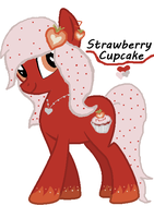 Strawberry Cupcake : Closed by JewelThePonyLover12