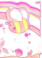 pinky bee by theMoondrop