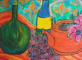 Still life: Matisse inspired by abflabby