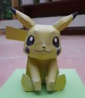 Pikachu Papercraft by PikaCathy