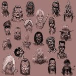 abyss characters by slaine69