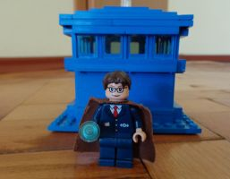 Custom Made Tenth Doctor Lego by PCamenzind