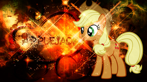 Applejack Wallpaper by CKittyKat98