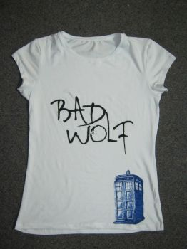 Doctor Who Bad Wolf Tee by Raechi-Cherie