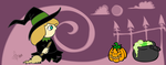 = Witch Halloween Mug = by Astral-Dragon
