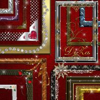 Set decorative frames by DiZa-74