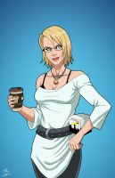 Karen Starr (Earth-27) commission by phil-cho