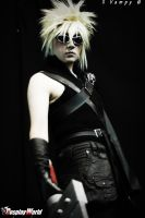 funny cloud cosplay by manolo-kun