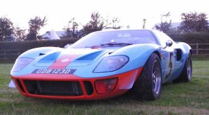 ford GT40 by kayakmad