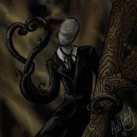 Slender Love. by IrkenVampyer777