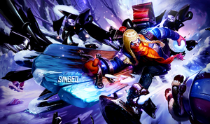 Snow day Singed by Arcaste