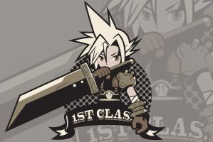 1ST CLASS [Cloud Strife] print ver. by Ruwah