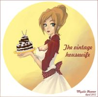 Vintage housewife by MysticHeaven