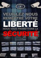 ECHANGE SECURITE CONTRE LIBERTE by OpGraffiti