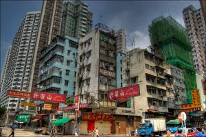 Old Hong Kong by 3vilCrayon