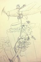 The Great Mouse Detective 2014 sketch !! by doraemonbasil