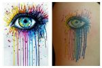 Inside Glow -- tattoo by Synyster-Sam