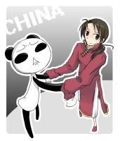 APH-Yan and panda by Dj-L