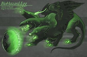 BioHazard Egg (Hatched Adoptable) by Ulario