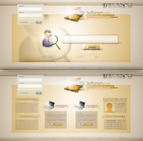 Softonym Web 2.0 Portal by mrh09