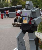 Megatron cosplay complete by Kankuro88