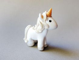 Magical Unicorn Miniature Figure by mAd-ArIsToCrAt