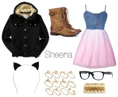Sheena - Polyvore by Sweetly-Poisoned