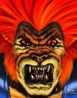 Lion O from Thundercats! by ArtNomad