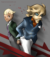 Agents of TARGENT by MagicianCelemis