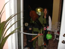 Trick or Treat Master Chief by Gubreez