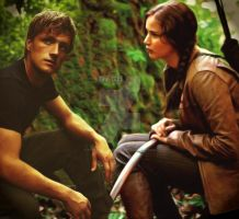 Katniss and Peeta by EternityEternity