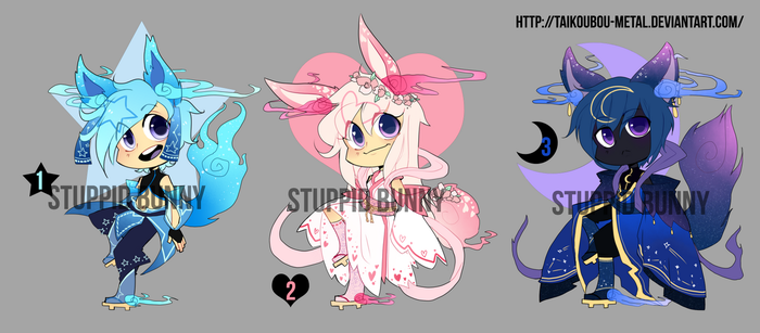 Auction Adoptables CLOSED by Taikoubou-Metal