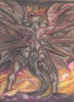 The Red Dragon by Thenari