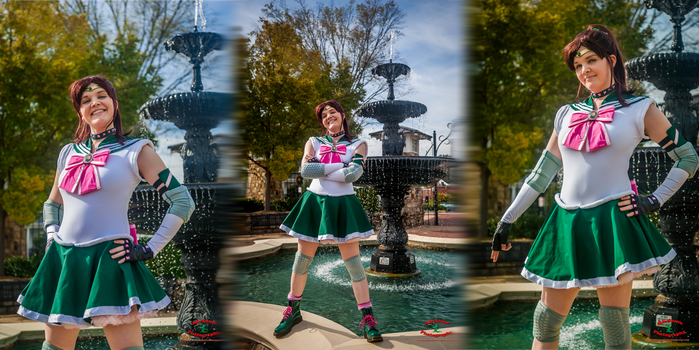 Cosplay: Age Appropriate Sailor Jupiter by TempestFae