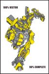 Bumblebee Vector Colour by Jezzy-Fezzy