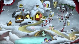 Preperations after Hearth's Warming Eve by Hewison