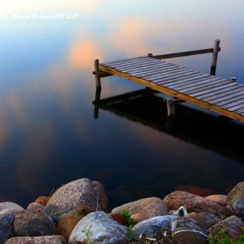 Little Jetty by Alcamin
