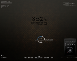 Rainmeter by funkyzzoo